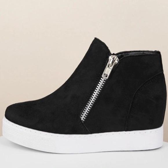 REHAB ZETA LEOPARD 02 BLACK SNEAKERS REHAB Footwear Online Store